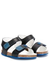 Armani Junior Velcro Strap Sandals