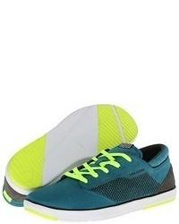Teal Low Top Sneakers
