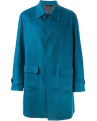 Teal Overcoat