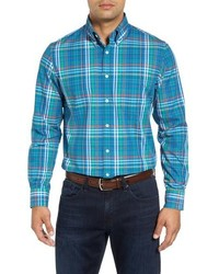Royal regular fit plaid sport shirt medium 834153