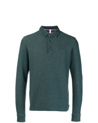 Sun 68 Long Sleeved Polo Shirt