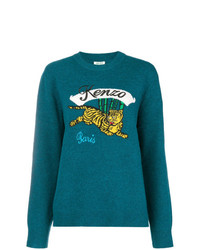 Kenzo Bamboo Tiger Knitted Jumper