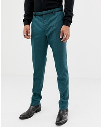Twisted Tailor Super Skinny Suit Trouser In Two Tone Geo