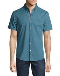 Teal Short Sleeve Shirt