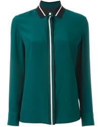 Contrast collar shirt medium 674093