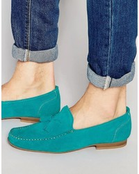 Loafers in suede medium 809649