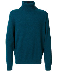 Teal Turtleneck