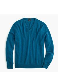 J.Crew Slim Italian Cashmere V Neck Sweater