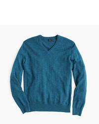 J.Crew Softspun V Neck Sweater