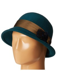Teal Wool Hat