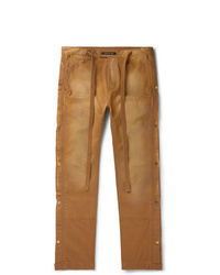 Fear Of God Belted Cotton Canvas Trousers