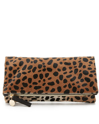 Clare Vivier Clare V Supreme Haircalf Fold Over Clutch