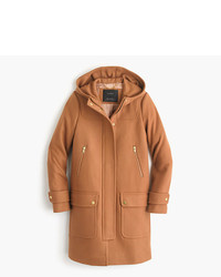 J.Crew Wool Melton Duffle Coat