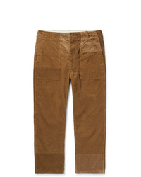 Engineered Garments Patchwork Cotton Corduroy Trousers