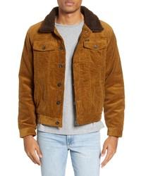 Tobacco Corduroy Shirt Jacket