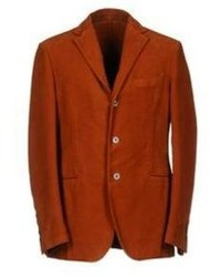 Tobacco Cotton Blazer