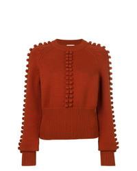 Chloé Pompom Knit Sweater