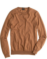 Slim merino wool crewneck sweater medium 754583