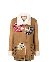 Ermanno Scervino Embroidery Short Coat