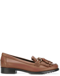 Tod's Fringed Tasseled Loafers