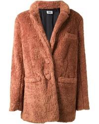 Tobacco Fur Coat