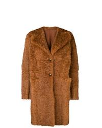 Salvatore Santoro Single Breasted Fur Coat