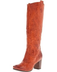 Tobacco Knee High Boots