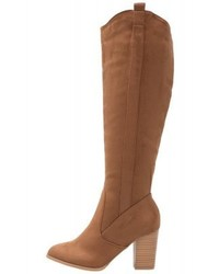 Anna Field Boots Cognac