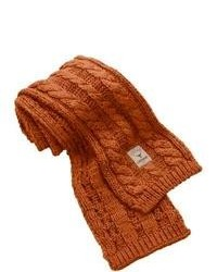 Tobacco Knit Scarf