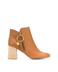 See by Chloe See By Chlo Stacked Heel Ankle Boots