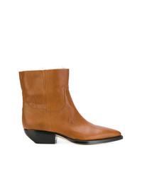 Saint Laurent Side Zip Ankle Boots