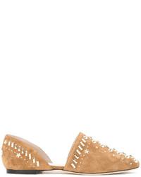 Jimmy Choo Globe Ballerina Shoes
