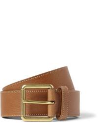 Mulberry 35cm Brown Full Grain Leather Belt