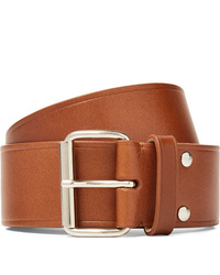 A.P.C. 4cm Brown Leather Belt