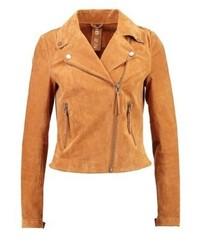 Leather jacket chipmunk medium 3993212