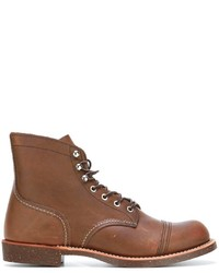 Red Wing Shoes Lace Up Boots