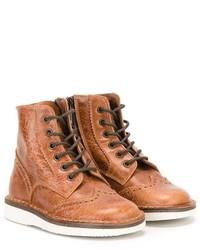 Pépé Pp Brogue Detailing Boots