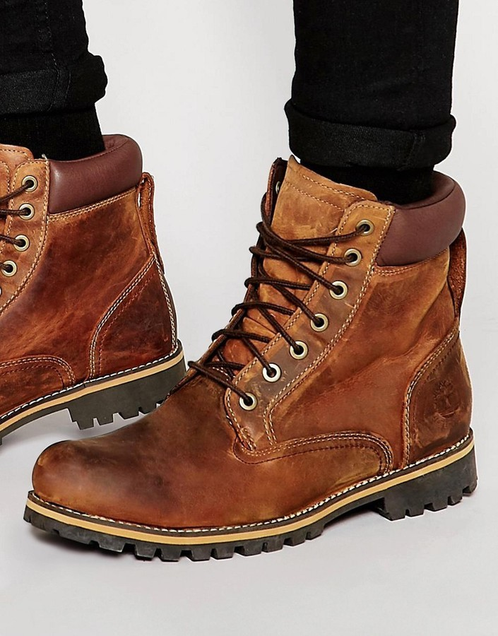 b5798df4d83 £157, Timberland Rugged 6 Inch Boots