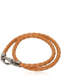 Tobacco Leather Bracelet