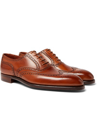 George Cleverley Reuben Leather Brogues