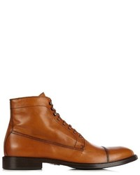 Belstaff Rainer Leather Lace Up Boots