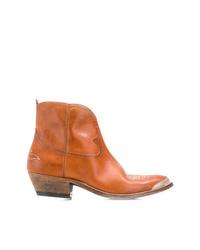 Golden Goose Deluxe Brand Western Zip Boots