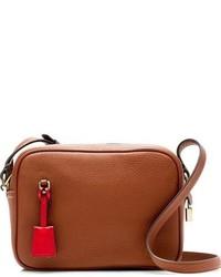 J.Crew Signet Leather Crossbody Bag Yellow