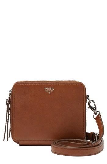 c630f8e971 Fossil Sydney Mini Leather Crossbody Bag, £92 | Nordstrom | Lookastic UK