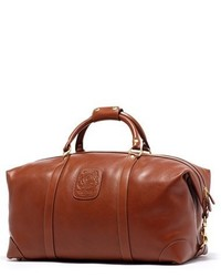 Cavalier ii leather duffel bag brown medium 1159100