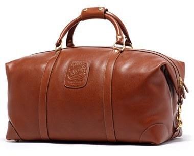... Tobacco Leather Duffle Bags Ghurka Cavalier Ii Leather Duffel Bag Brown  ... edfa036756