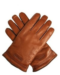 Leather and suede gloves medium 799260
