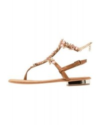 Primadonna Collection T Bar Sandals Rosa