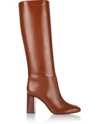 Tory Burch Devon Leather Knee Boots