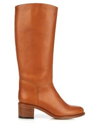 A.P.C. Iris Knee High Leather Boots